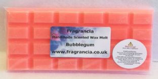 85 gram Highly Scented Wax Melt bar (BUBBLEGUM)